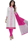 Luckies Cotton Embroidered Salwar Suit D...