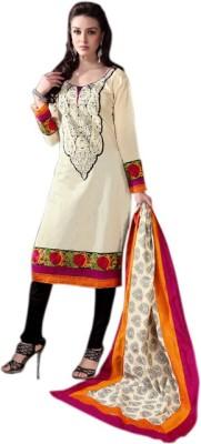 Variation Cotton Polyester Blend Embellished Dress/Top Material