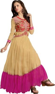 Arya Garment Net Embroidered Dress/Top Material