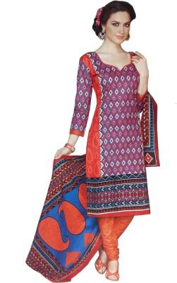Kezro Cotton Printed Salwar Suit Dupatta Material