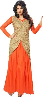 Blissta Net Self Design Dress/Top Material