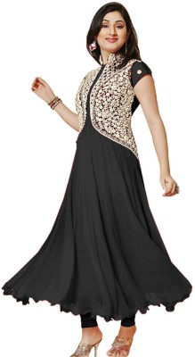 Shreet Fashion Georgette Embroidered Dress/Top Material