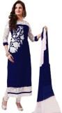 VM Georgette Embroidered Salwar Suit Dup...