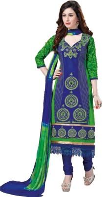 Beautiful You Cotton Self Design Salwar Suit Dupatta Material