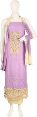 Aroras Fashion Cotton Floral Print Semi-stitched Salwar Suit Dupatta Material