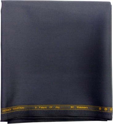 Siyarams Cotton Polyester Blend Self Design Trouser Fabric