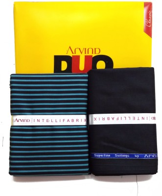 ARVIND Cotton Striped Shirt & Trouser Fabric