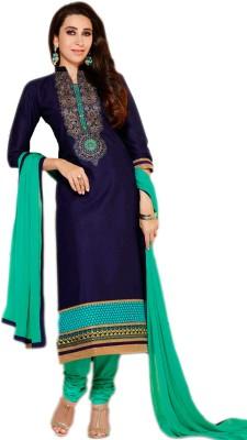 Meeshti Cotton Self Design, Embroidered Salwar Suit Dupatta Material