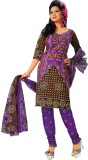 Buy Clues Cotton Printed Salwar Suit Dup...