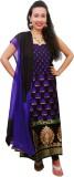 Ethnic Creations Silk Self Design Salwar...