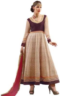We Desi Georgette Embroidered Salwar Suit Dupatta Material