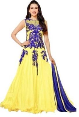 Suriyanka Georgette Self Design Salwar Suit Dupatta Material