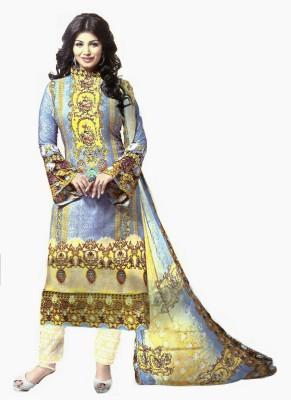 RSfantasea Rayon Printed Salwar Suit Dupatta Material