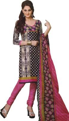 Latha Designs Cotton Printed Salwar Suit Dupatta Material