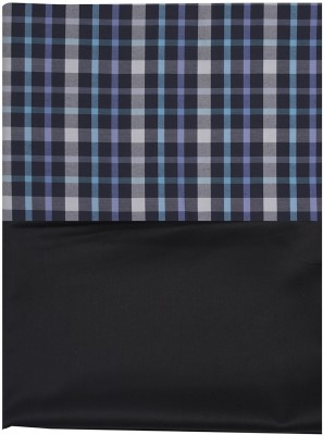 SAHYOG Cotton Polyester Blend, Synthetic Checkered Shirt Fabric, Shirt & Trouser Fabric