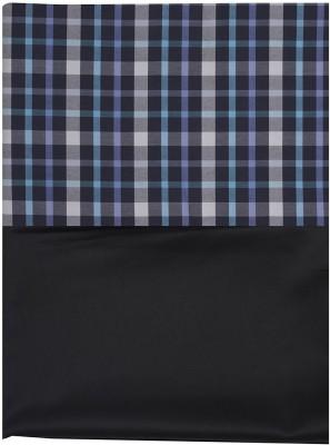SAHYOG Cotton Polyester Blend, Synthetic Checkered Shirt Fabric, Shirt & Trouser Fabric