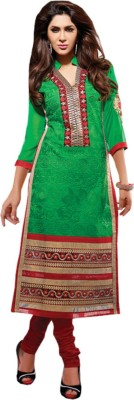 Abhinna Cotton Embroidered Dress/Top Material