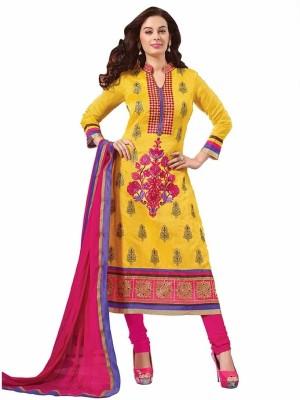 Ashika Cotton Self Design Salwar Suit Dupatta Material