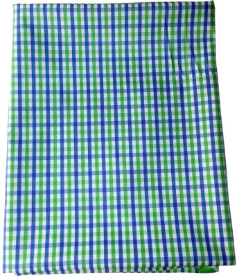 Ud Febric Polyester Checkered Shirt Fabric