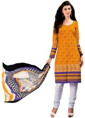 VenusINDR Cotton Floral Print Salwar Suit Dupatta Material
