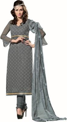 Parisha Georgette Embroidered Salwar Suit Dupatta Material