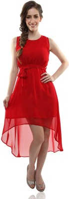 Varni Retail Georgette Solid Dress/Top Material