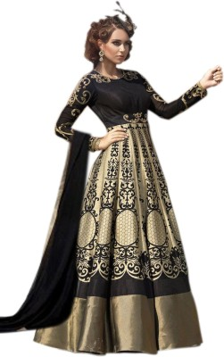 Thankar Cotton Printed Semi-stitched Salwar Suit Dupatta Material