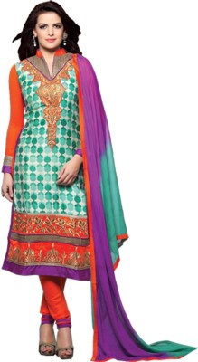 King Sales Cotton Embroidered Salwar Suit Dupatta Material