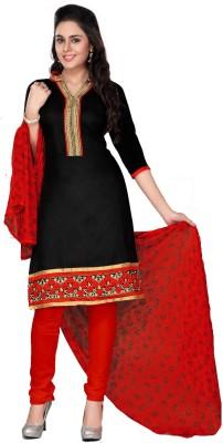 Aagamanfashion Chanderi Self Design Salwar Suit Dupatta Material
