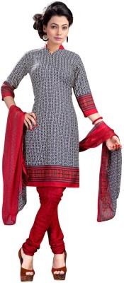 Vastrani Crepe Printed Salwar Suit Dupatta Material