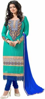 Khushali Georgette Self Design Salwar Suit Dupatta Material