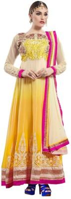Aahira Georgette Self Design Salwar Suit Dupatta Material