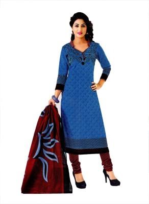 Kivi Trendz Cotton Printed Salwar Suit Dupatta Material