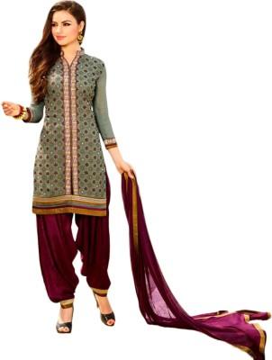 Banjaraindia Georgette Embroidered Salwar Suit Dupatta Material