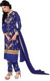 Inddus Georgette Embroidered Salwar Suit...