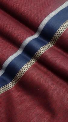 Cotton Fabrico Jute, Cotton Linen Blend Solid Kurta Fabric