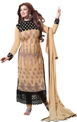 Jiya Net Self Design, Embroidered Salwar Suit Dupatta Material