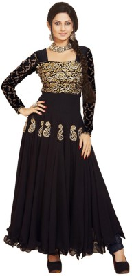 Fstore Georgette Embroidered Dress/Top Material