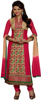 Typify Georgette Embroidered Salwar Suit Dupatta Material