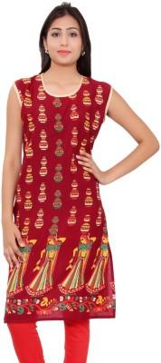 Kurti Studio Cotton Floral Print Dress/Top Material