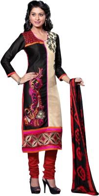 Fabgruh Cotton Embroidered Salwar Suit Dupatta Material