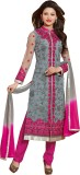 FashionSurat Georgette Self Design Semi-...
