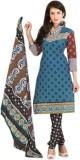 Azuresale Cotton Printed Salwar Suit Dup...