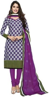 Shree Ganesh Cotton Self Design Salwar Suit Dupatta Material(Un-stitched) at flipkart