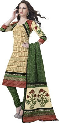 Aarvi Cotton Printed Salwar Suit Dupatta Material