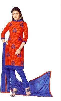 Miraan Cotton Embroidered Salwar Suit Dupatta Material