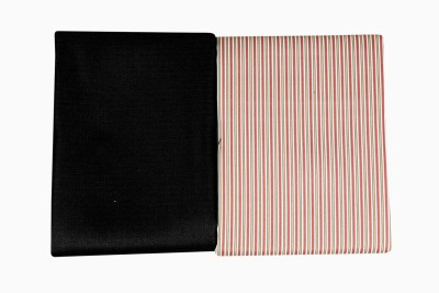 Cladien Cotton Polyester Blend Striped Shirt & Trouser Fabric