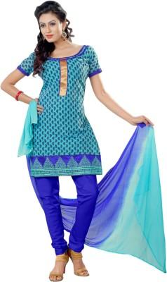 Vastrani Chanderi Embroidered Salwar Suit Dupatta Material