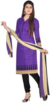 Loot Lo Creation Cotton Printed Salwar Suit Dupatta Material
