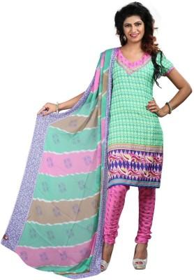 Feb Suhani Crepe Printed Salwar Suit Dupatta Material